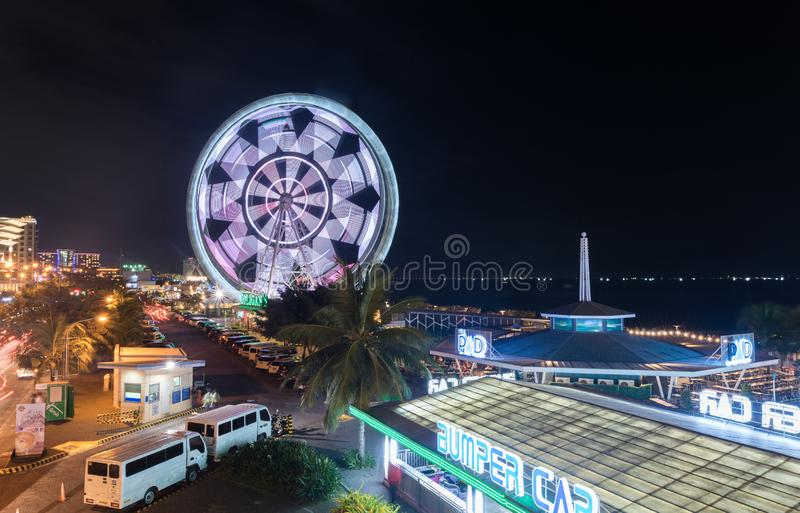 MANILA FILIPPINERNA - FEBRUARI 03, 2018: Galleria av Asien i Manila, Pasay arkivbild