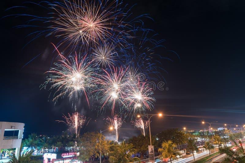 MANILA FILIPPINERNA - FEBRUARI 03, 2018: Galleria av Asien i Manila, Pasay royaltyfria bilder