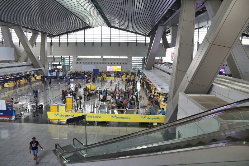 Manila-Flughafen stockfotografie