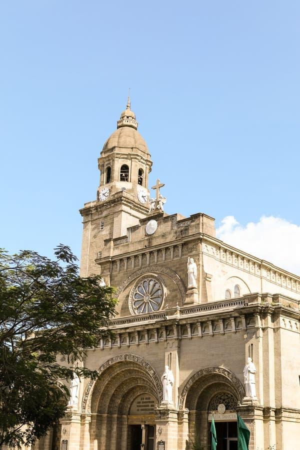 Manila-Kathedrale lizenzfreies stockbild