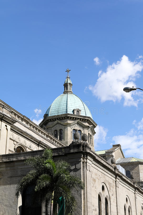 Manila-Kathedrale lizenzfreie stockfotografie