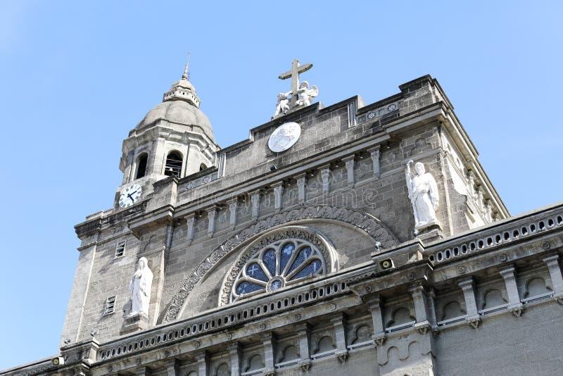 Manila-Kathedrale lizenzfreies stockfoto