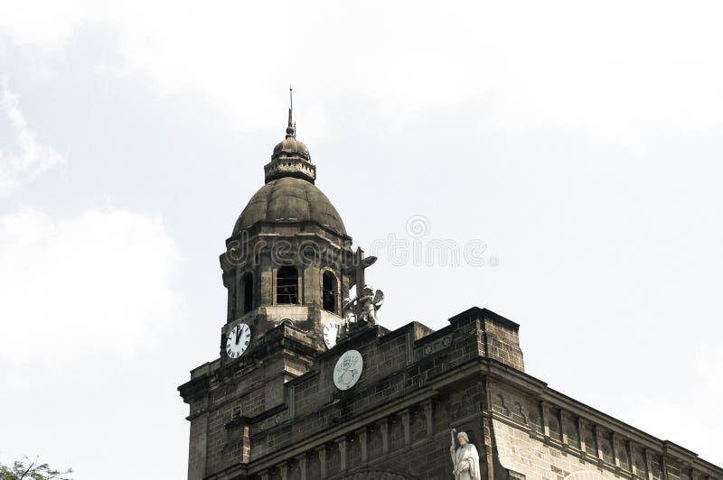 Manila-Kathedrale stockfoto