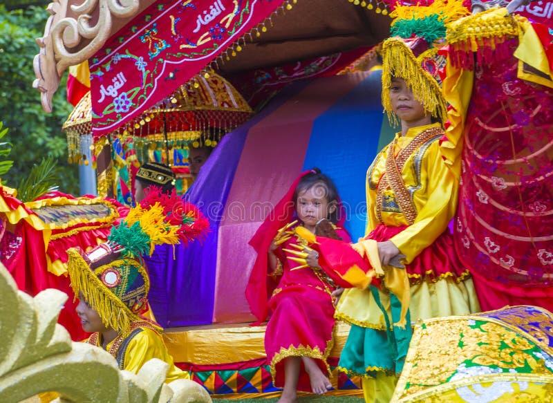 2019 Aliwan Fiesta. MANILA , PHILIPPINES - APRIL 27 :Participant in the Aliwan fiesta in Manila Philippines on April 27 2019. Aliwan Fiesta is an annual event royalty free stock photos