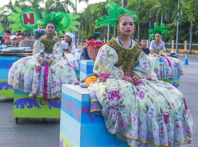 2019 Aliwan Fiesta. MANILA , PHILIPPINES - APRIL 27 :Participants in the Aliwan fiesta in Manila Philippines on April 27 2019. Aliwan Fiesta is an annual event stock photos