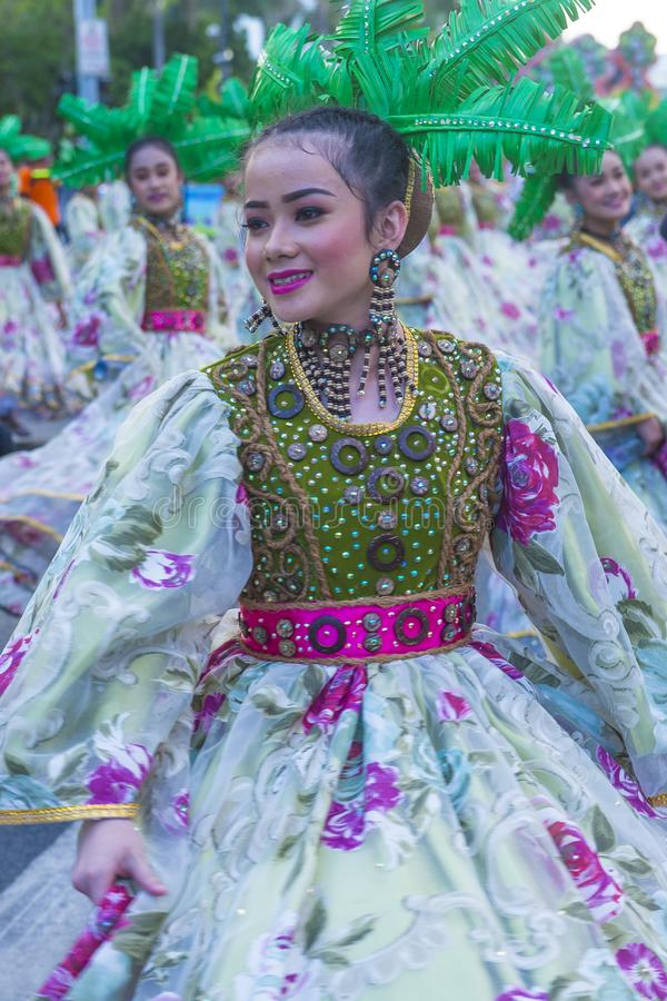 2019 Aliwan Fiesta. MANILA , PHILIPPINES - APRIL 27 :Participants in the Aliwan fiesta in Manila Philippines on April 27 2019. Aliwan Fiesta is an annual event royalty free stock images