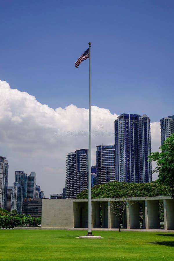 Manila pomnik i fotografia stock