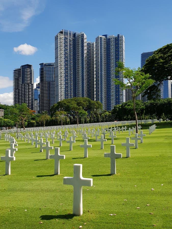Manila pomnik i zdjęcie royalty free