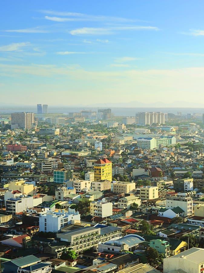 Manila skyline royalty free stock images