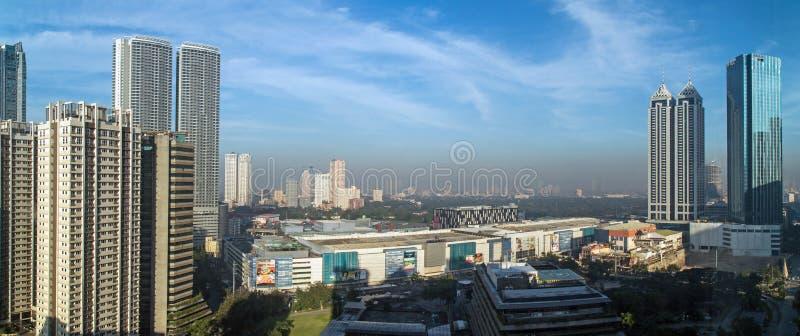 Manila-Smog stockfotografie