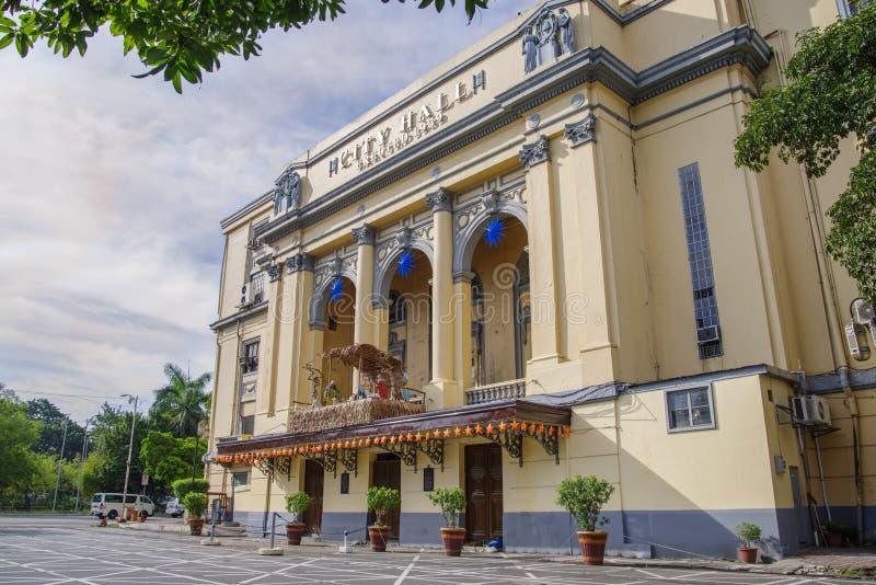 Manila stadshus arkivfoto