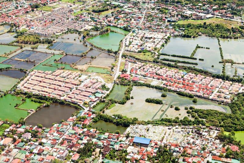 Manila-Vorort stockfotografie