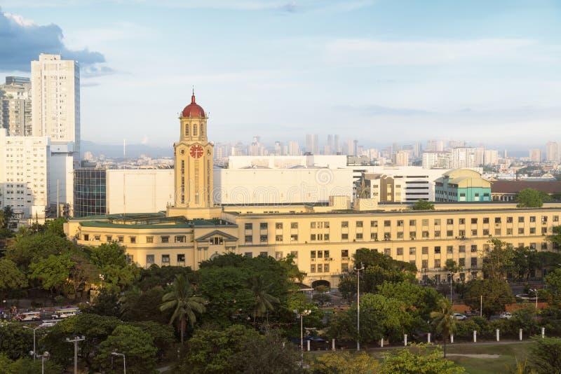 ManilaRathaus, Philippinen lizenzfreies stockbild