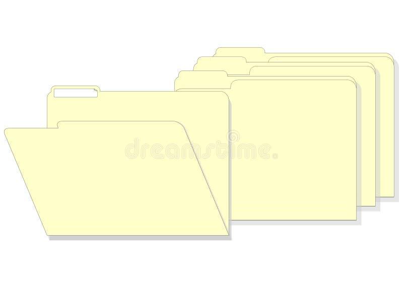 Download Manilla File Folders stock illustration. Illustration of cabinet - 297978