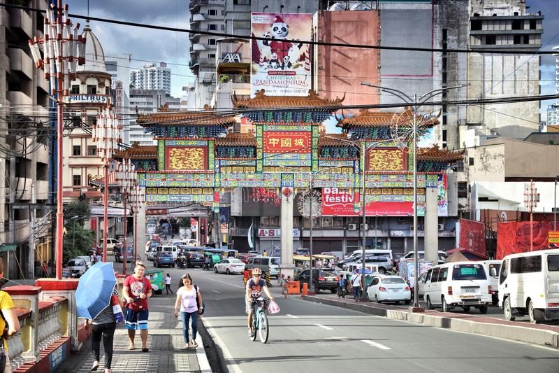 Manilla, Filippijnen stock foto
