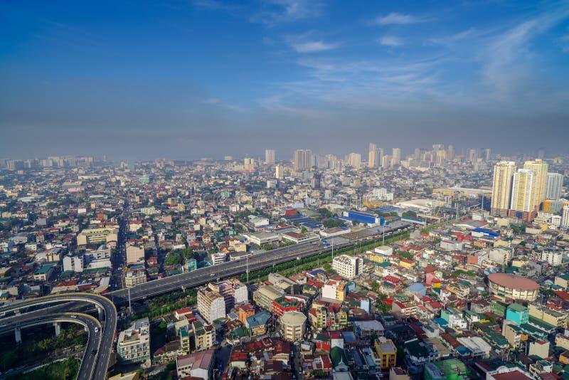 Manille Skyview photos libres de droits