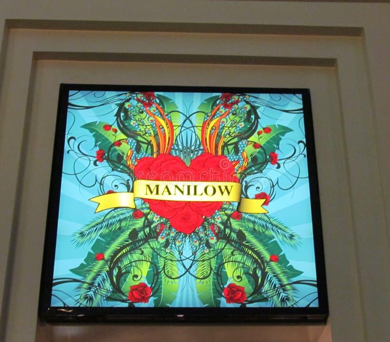Manilow images libres de droits