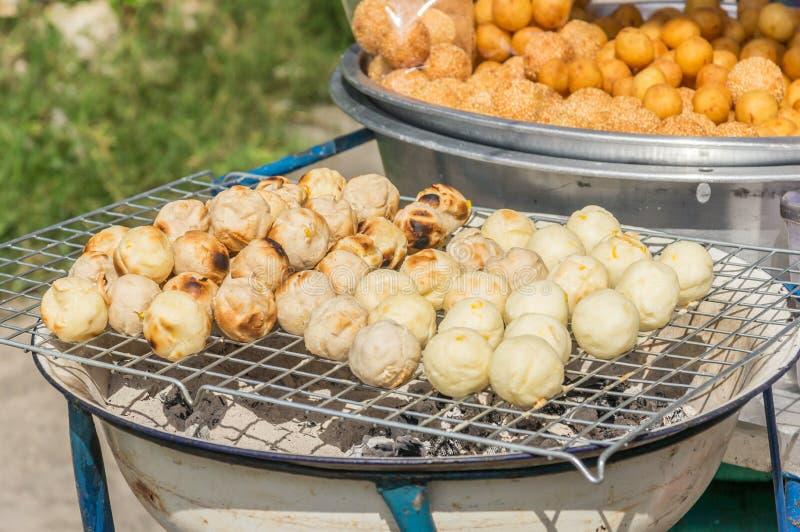 Manioc grinded par pain grillé doux images stock
