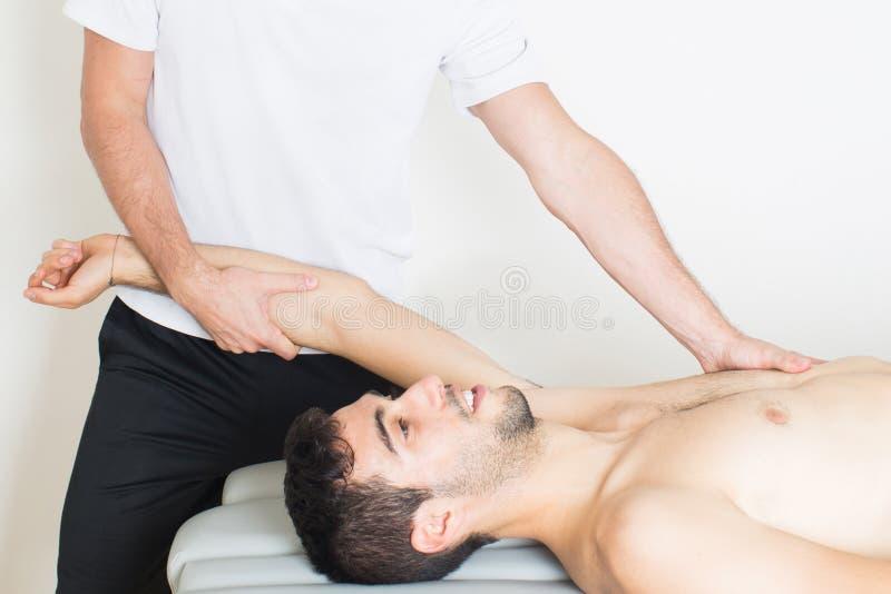 Manipulação do braço imagem de stock