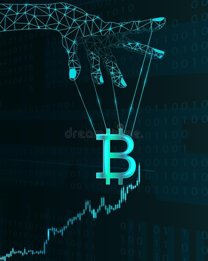 Manipulación de precio de Bitcoin libre illustration