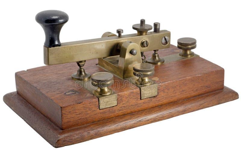 Manipulador de Morse fotos de stock