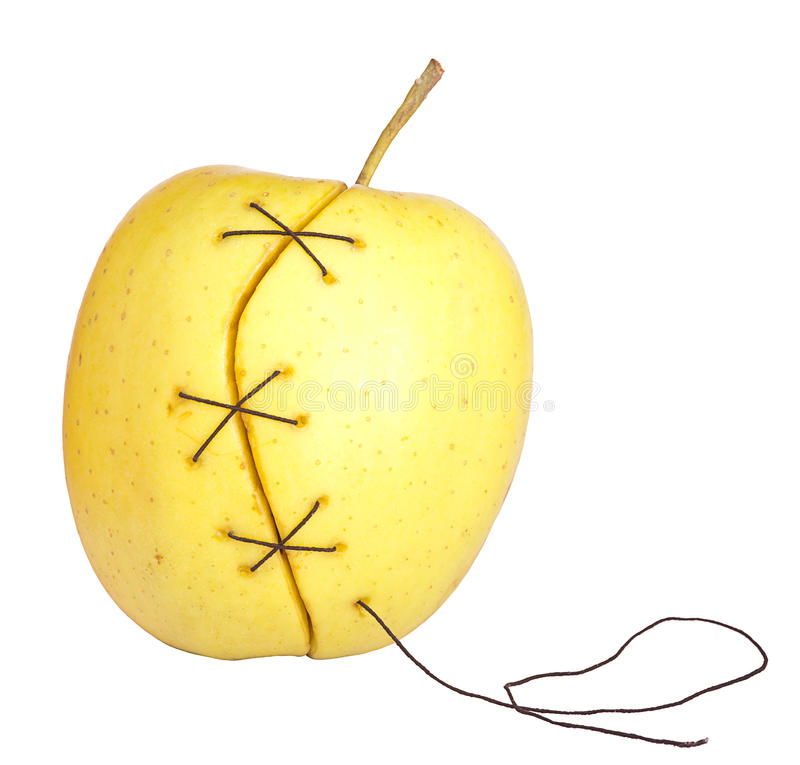 Manipulated fruit stock photography