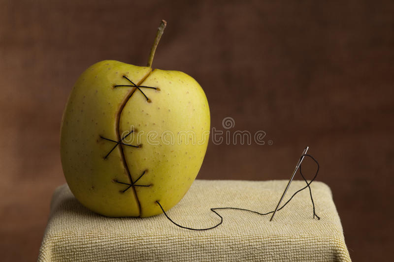 Manipulated fruit stock images