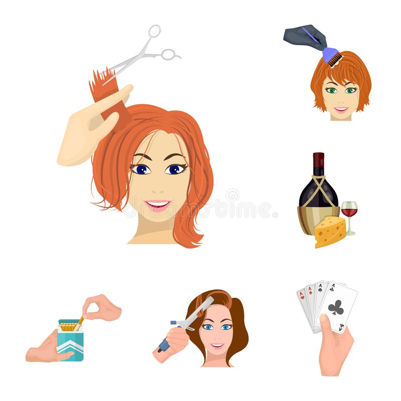 Manipulation by hands cartoon icons in set collection for design. Hand movement vector symbol stock web illustration. Manipulation by hands cartoon icons in set vector illustration