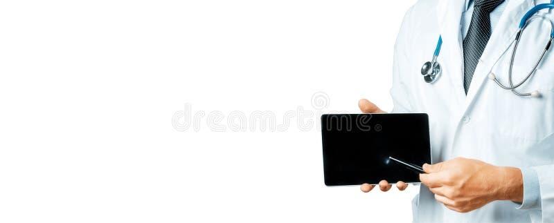 Manipulera genom att använda den Digital tableten i konsultation med tålmodig arkivbilder