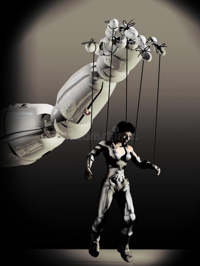 Manipulerende Mensen vector illustratie