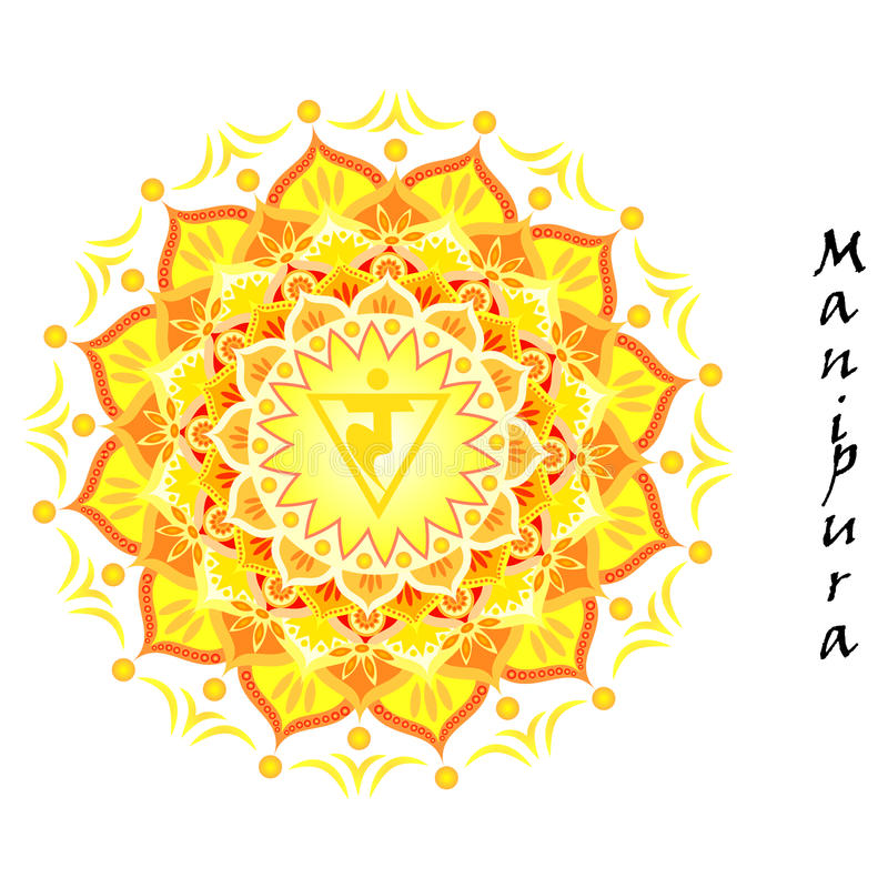 Manipura Chakra lizenzfreies stockfoto