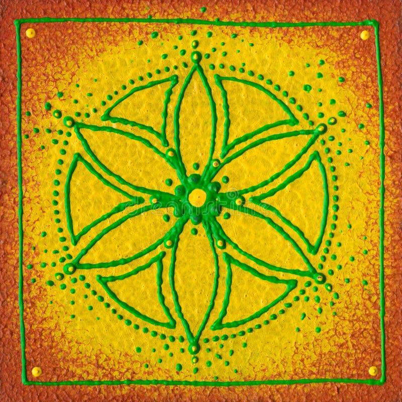 Manipura solarplexus arkivbilder