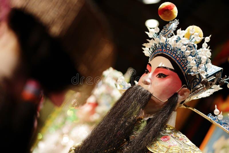 Maniquí chino de la ópera fotos de archivo libres de regalías