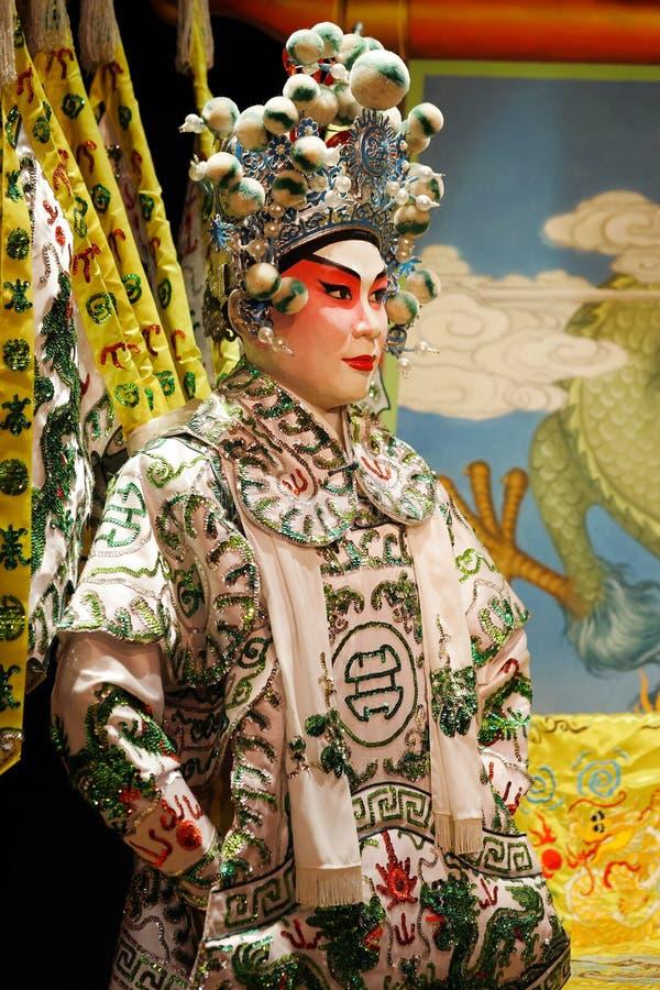 Maniquí chino de la ópera fotografía de archivo libre de regalías