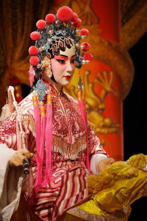 Maniquí de la ópera del Cantonese imágenes de archivo libres de regalías