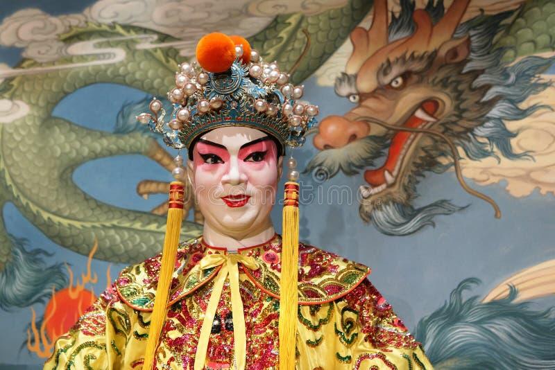 Maniquí de la ópera del Cantonese foto de archivo