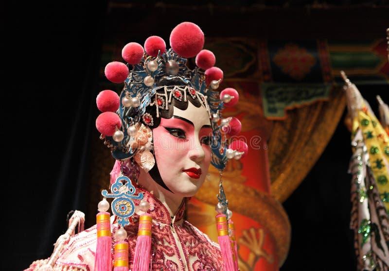 Maniquí de la ópera del Cantonese imagen de archivo