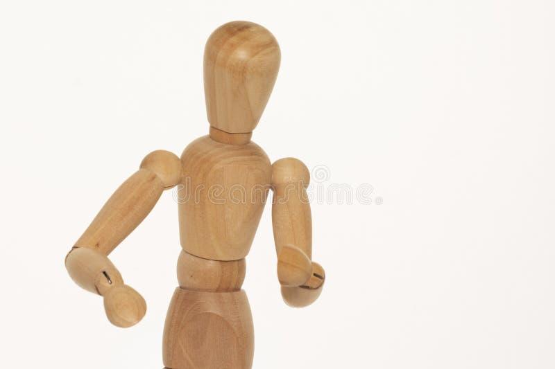 Maniquí de madera imagen de archivo libre de regalías