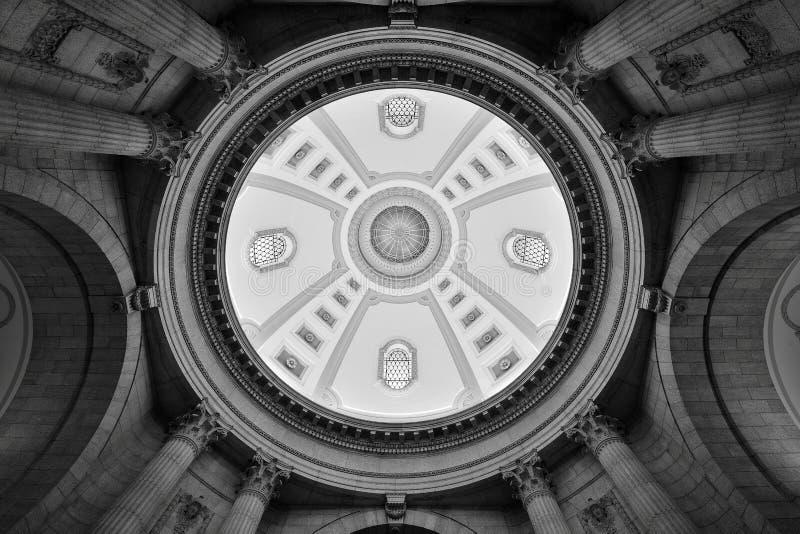 Manitoba lagstiftnings- byggnad royaltyfria foton