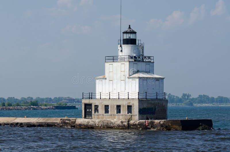 Manitowoc-Wellenbrecher-Leuchtturm, Wisconsin lizenzfreie stockfotos