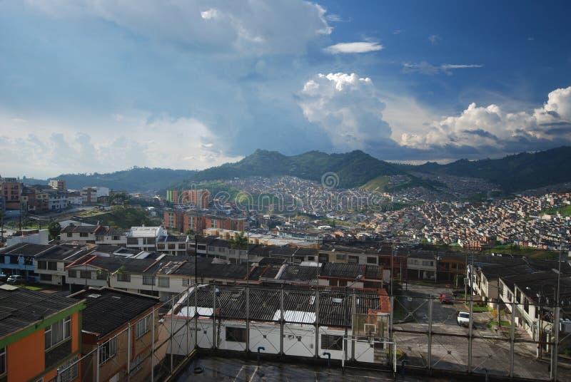 Manizales Colombia - distretto del caffè fotografia stock libera da diritti