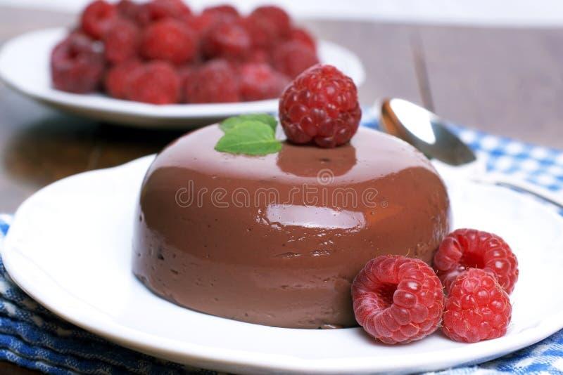 Manjar-branco do chocolate imagens de stock royalty free