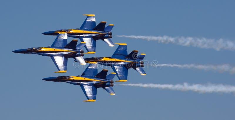 Mankato, angeli blu della marina statunitense del manganese 9 giugno nello show aereo F-18 fotografie stock