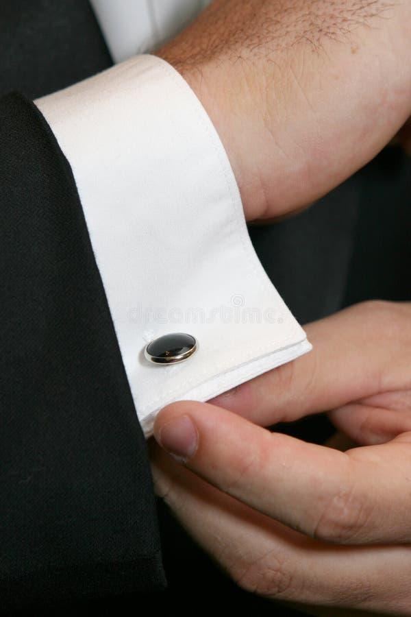 mankiecik łączy kładzenie zdjęcie royalty free