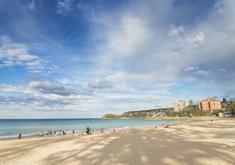 Manlig strand i sydney Australien royaltyfri foto
