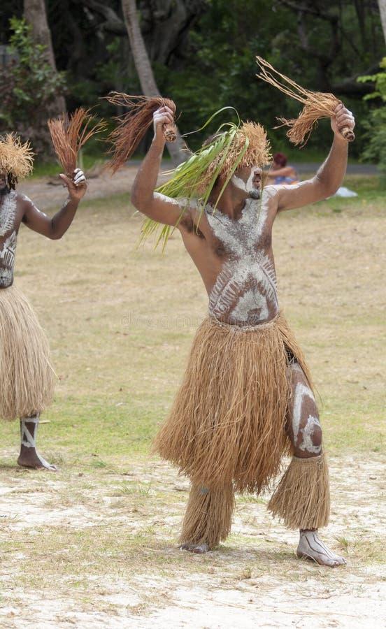 Manliga Kanak dancer-3 arkivbild