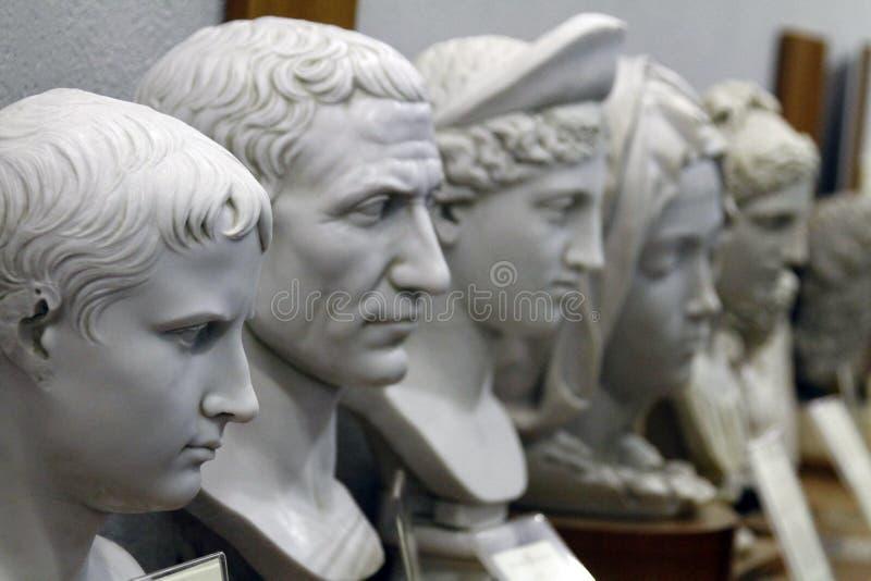 manliga statydetaljer av Vaticanenmuseer royaltyfria foton