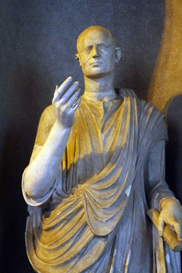 manliga statydetaljer av Vaticanenmuseer royaltyfri fotografi