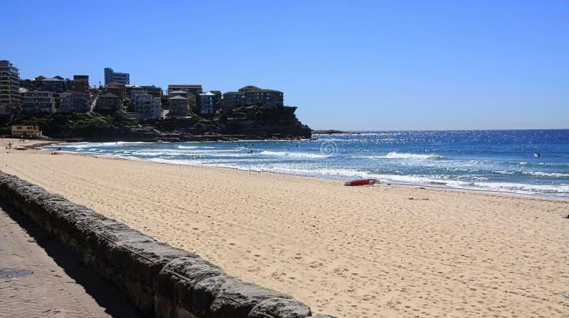 manly Australien strand arkivfoton