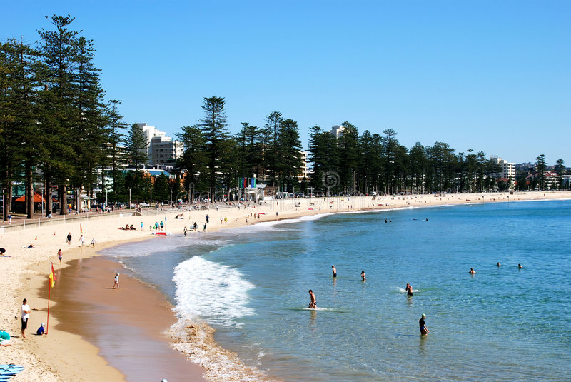 Manly Beach royalty free stock images